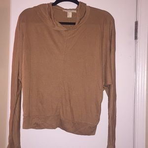 Camel colored Forever21 hoodie